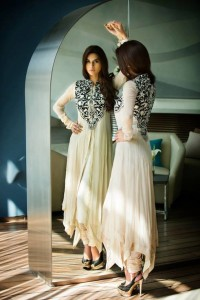 Stylish party wear dresses 2013