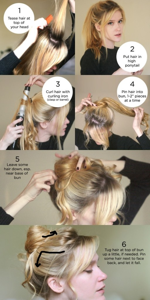 Summer updo quick easy hairstyles