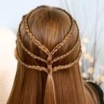 Triple-Braided-Tieback-Hairstyles-