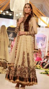 Pakistani bridal frocks collection 2013