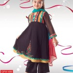 pakistani kids frocks for eid 2013