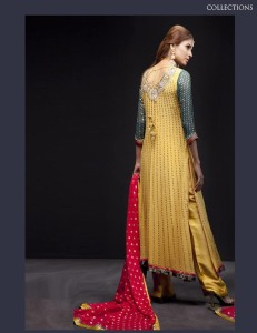 pakistani long shirt design 2013