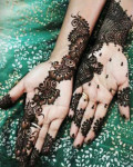 Arabic mehndi designs pictures