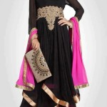 Black dress designs 2013 for girls – Black frock designs