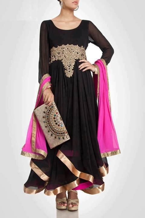 New Black Dress Designs 2015 1  PakifashionPakifashion