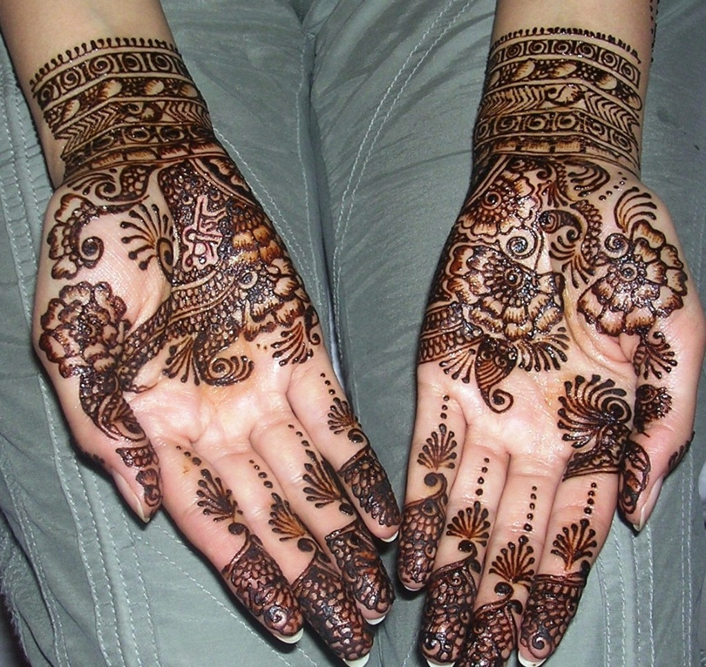 Mehndi Designs Arabic Simple And Easy : Latest arabic mehndi designs for eid