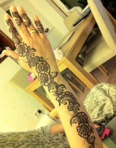 Eid mehndi designs 2013 for girls