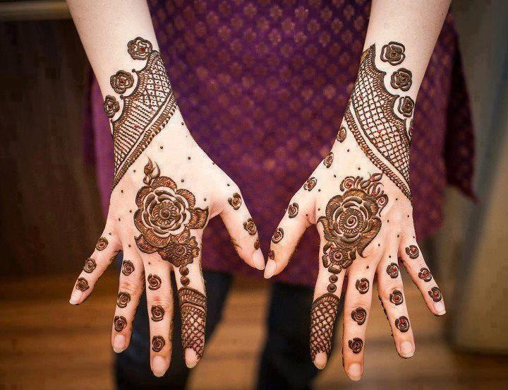 Mehndi Designs For Hands Eid : Beautiful eid mehndi designs for hands