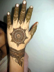 Eid mehndi designs for women