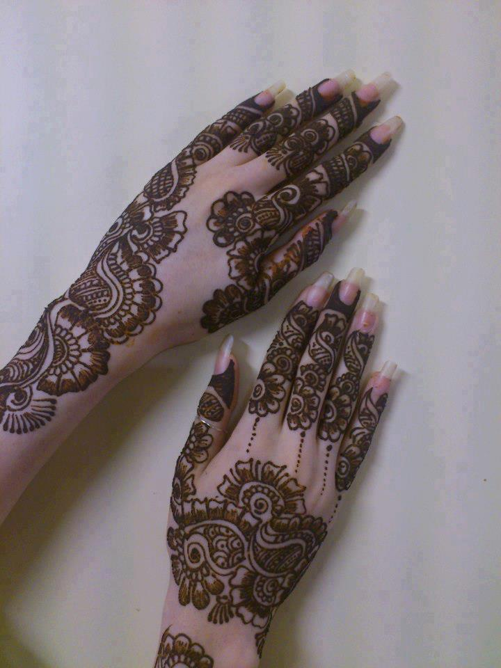 Henna designs for eid 2013 - mehndi designs for sweet girls