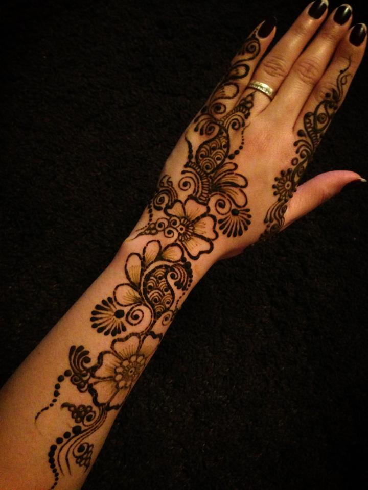 Mehndi Tattoo For Girls : Henna mehndi designs eid for girls