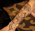 Henna tattoo designs for arms