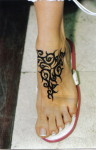 Mehndi Tattoos For Girls