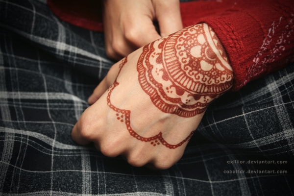 Mehndi For Wrist : Henna tattoo designs temporary patterns