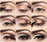 How to make smokey eyes brown black