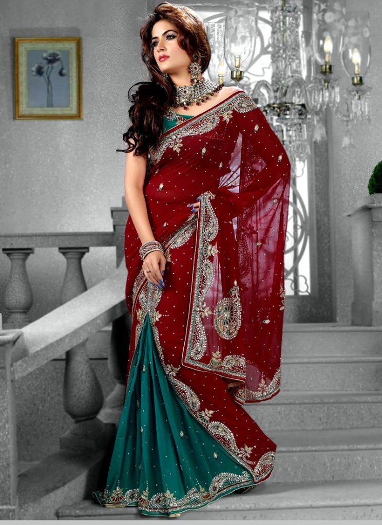 Indian bridal dresses 2013 in different styles - Indian dresses