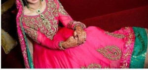 Indian bridal frock designs 2013