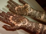 Indian style eid mehndi designs 2013