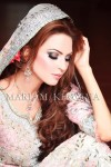 Latest pakistani bridal makeup 2013