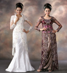 Malaysian wedding gowns 2013