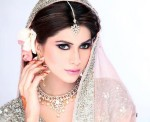 Pakistani bridal makeup 2013 model look