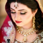 Latest trends in Pakistani bridal makeup 2013