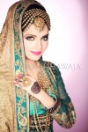 Pics of pakistani bridal makeup 2013