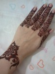 Simple eid mehndi designs
