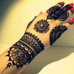 Latest Arabic Mehndi Designs 2013