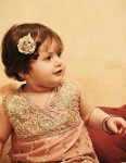 Stylish embroidered girls dress 2013