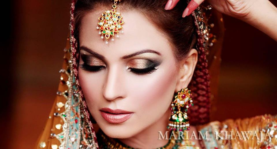 Latest Trends In Pakistani Bridal Makeup 2013 - Bridal Makeover
