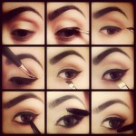 How to apply eye liner step by step