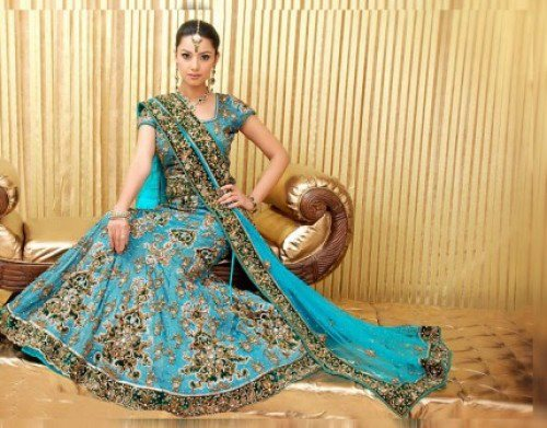 Image result for bridal lehenga choli photo