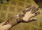 latest arbic mehndi designs 2013