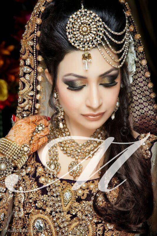 pakistani bridal makeup 2013 smokey eyes pakitstani bridal makeup in