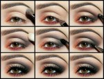 pictures of how to make smokey eyes