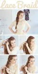 Braided long hairstyles for eis