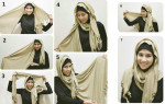 How to wear hijab in Muslimah style