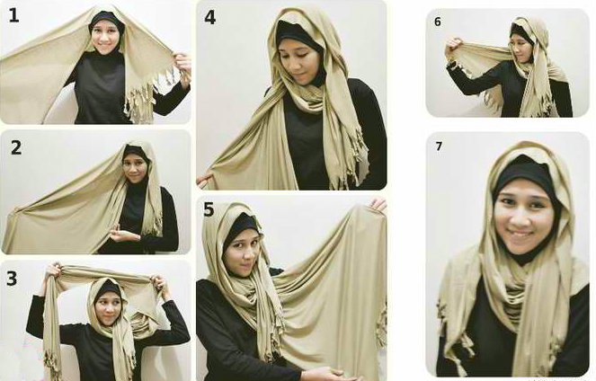 How To Wear Hijab Hijab Styles Tutorial Step By Step
