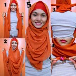 How to wear hijab in new style