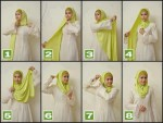 How to wear hijab step by step
