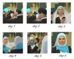 How to wear hijab with cap