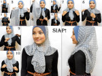 How to wear stylish hijab
