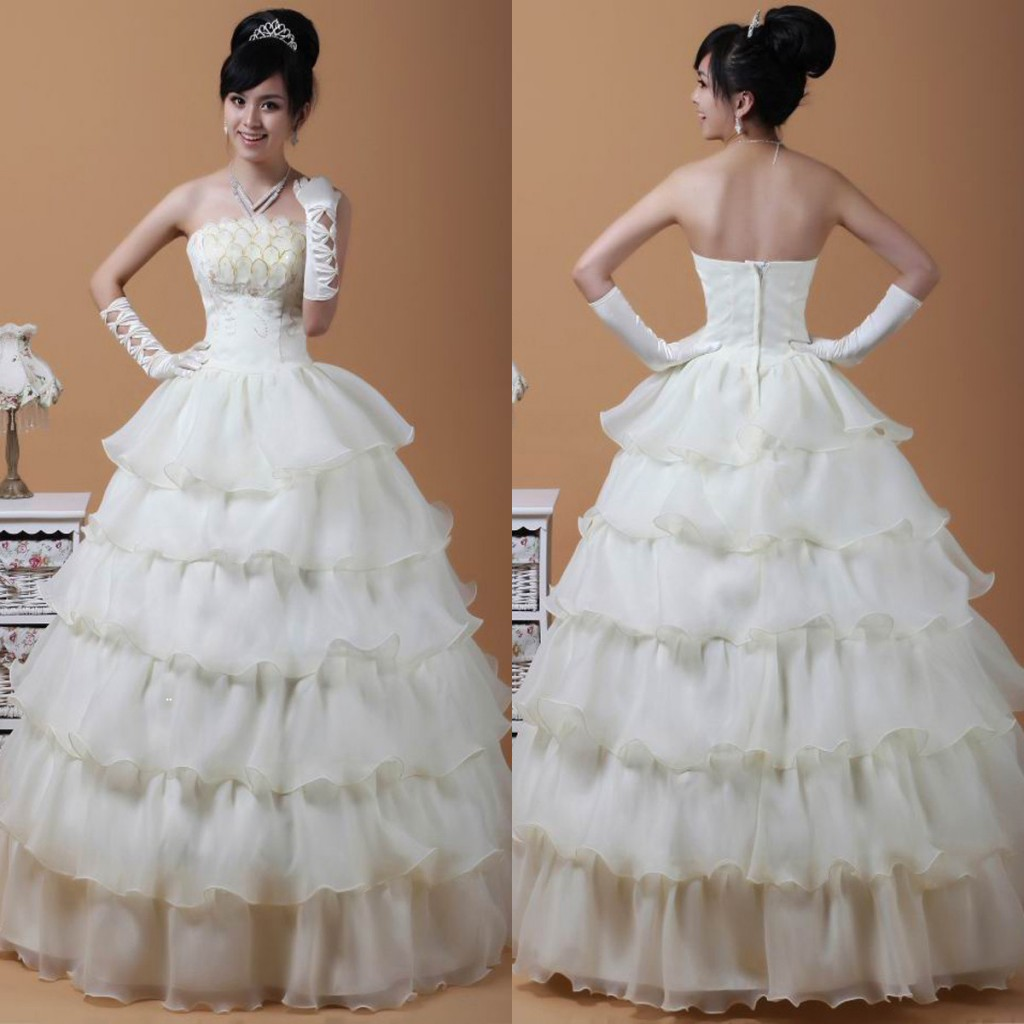 Korean Bride Dress