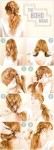 Long hairstyles for eid