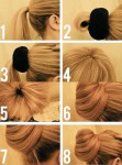 Long hairstyles for eid step by step