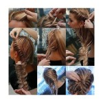 Long hairstyles ideas for eid