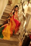 Multi color bridal mehndi clothes