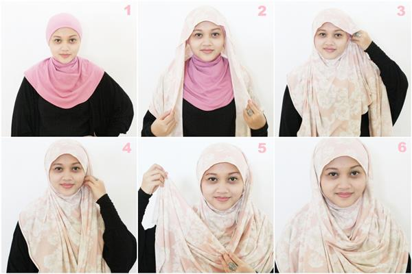 Pictures of how to wear hijab