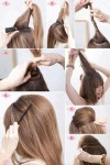 Stylish up hood hairstyles for long hairs